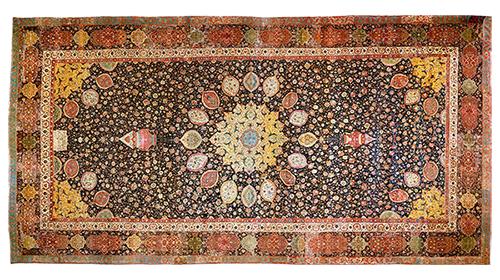 Slavný koberec Ardabil