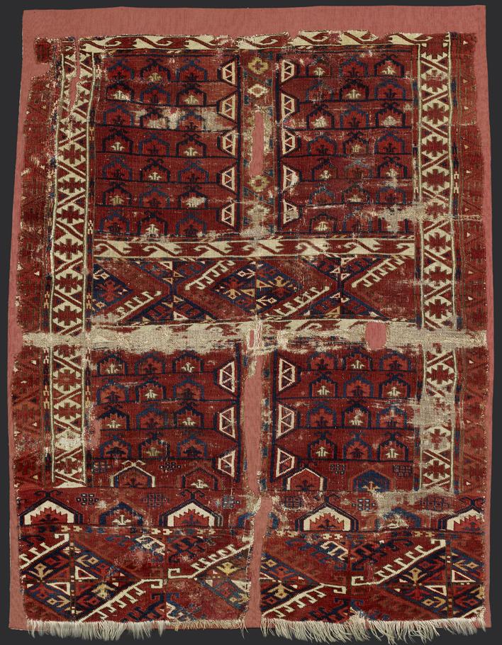 turkmenský koberec