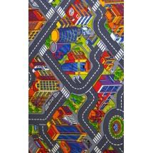 Dětský kusový koberec Big City 97 100 x 165 cm
