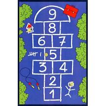 Dětský kusový koberec Child 004/09008 100 x 150 cm