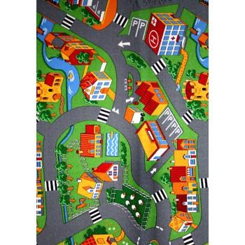 Dětský kusový koberec Little Village 90 140 x 200 cm