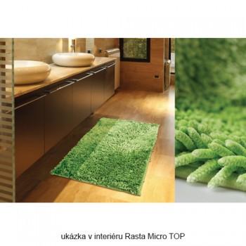 Koupelnová předložka Rasta Micro TOP Bordo 70 x 140 cm