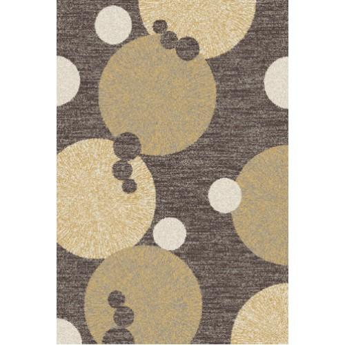 Kusový koberec Cosi 78028 Dark Brown 160 x 220 cm
