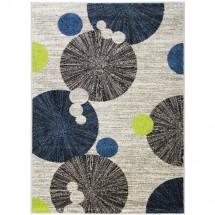 Kusový koberec Cosi 78028 Ivory Green Blue 60 x 110 cm