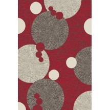 Kusový koberec Cosi 78028 Red 60 x 110 cm