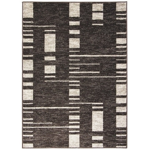 Kusový koberec Cosi 78069 Dark Brown 160 x 220 cm