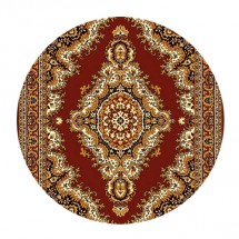 Kusový koberec Teheran 102 Brown 150 x 150 cm