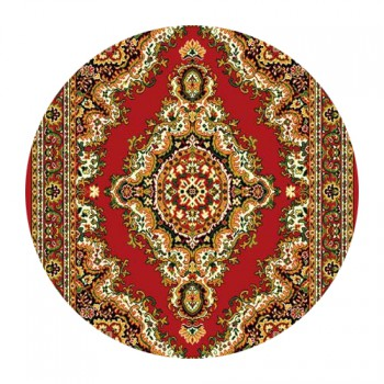 Kusový koberec Teheran 102 Red 150 x 150 cm