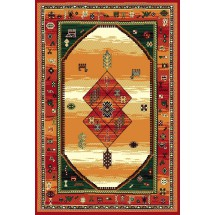 Kusový koberec Teheran 375 Brown 80 x 150 cm
