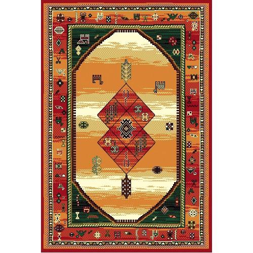 Kusový koberec Teheran 375 Brown 200 x 300 cm